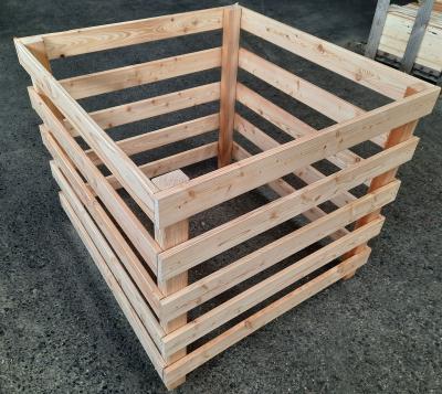 Waegner - Hochwertiger Komposter 95 Fichte aus Fichtenholz natur