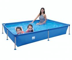 Wehnke - Happy People 77516 - Stahlrahmen / Frame Pool rechteckig 228x159x42 cm